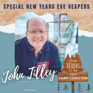 Virtual Vespers 5:00PM with John Tilley